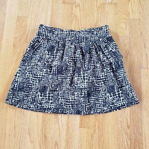 Forever 21 Abstract Print Mini Skirt